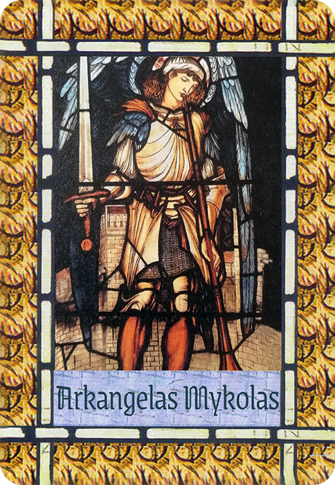 Arkangelas Mykolas (Angelų kortos)