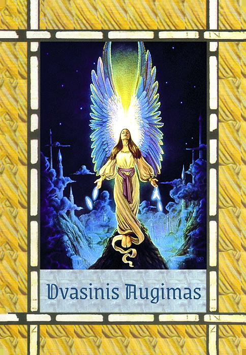 Dvasinis Augimas (Angelų kortos reikšmė)