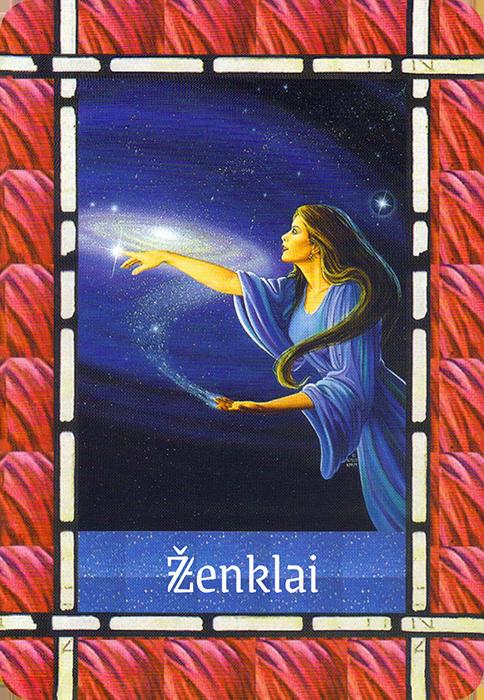 Ženklai (Angelų kortos reikšmė)