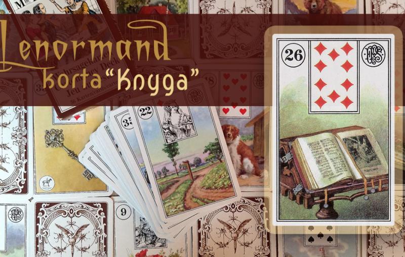 Marijos Lenormand Knyga