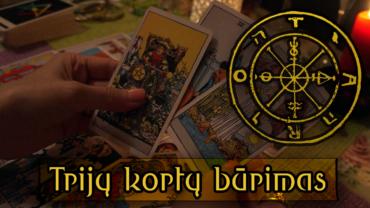 Trijų kortų būrimas tarot