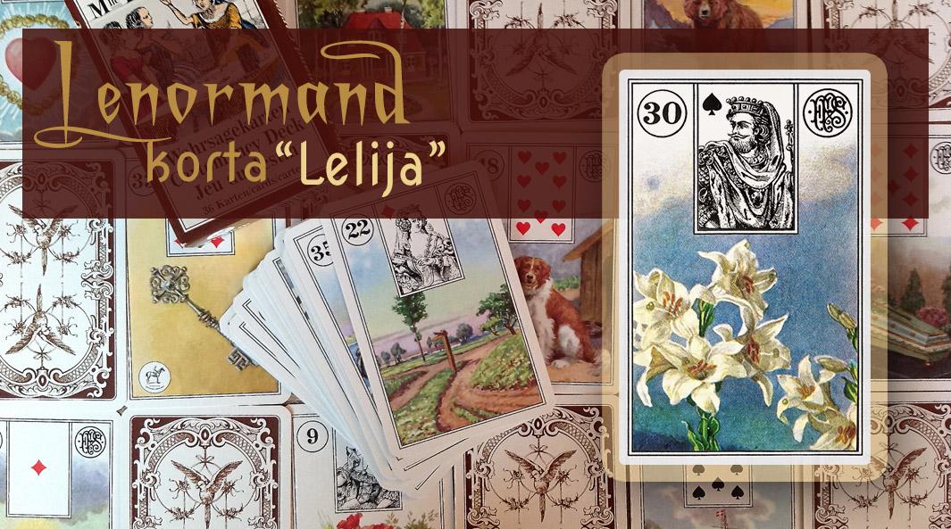 Marijos Lenormand Lelija