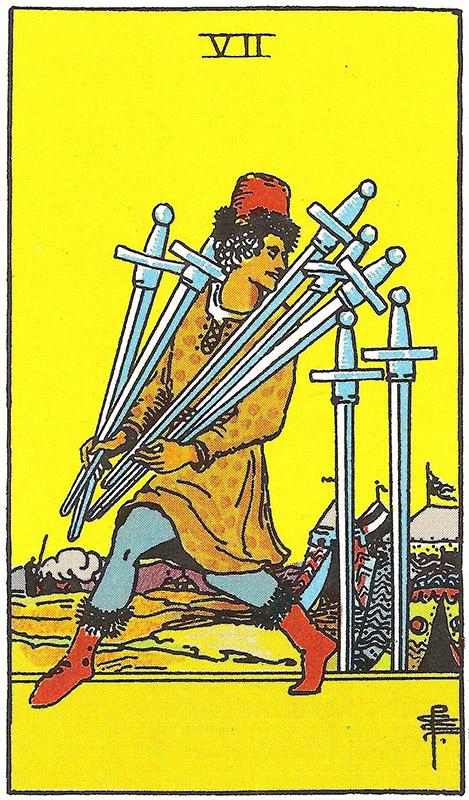 Septyni kardai