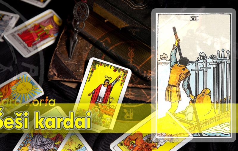 Šeši kardai taro korta